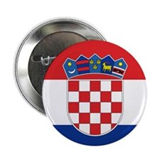 Croatia Flag Button