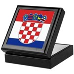 Croatia Flag Keepsake Box