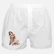 Cute Nightgown Boxer Shorts