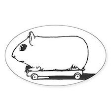 Skate Pig Decal