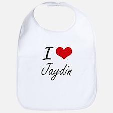 I Love Jaydin Bib