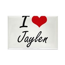 I Love Jaylen Magnets