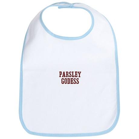 parsley Godess Bib