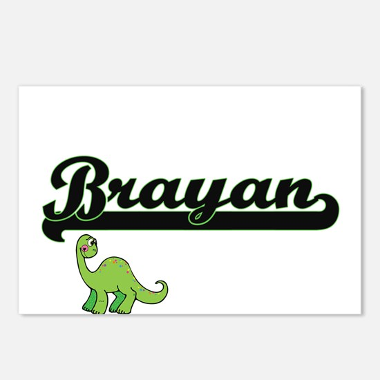 Brayan Classic Name Desig Postcards (Package of 8)