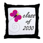2030 Class Graduate Throw Pillow