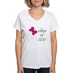 2030 Class Graduate Women's V-Neck T-Shirt