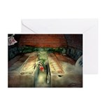 Gothic Coffin Love Greeting Cards (Pk of 10)