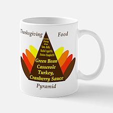 Thanksgiving Food Pyramid Mug