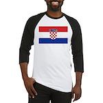 Croatia Flag Baseball Jersey