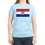 Croatia Flag Women's Light T-Shirt