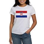 Croatia Flag Women's T-Shirt