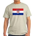Croatia Flag Light T-Shirt
