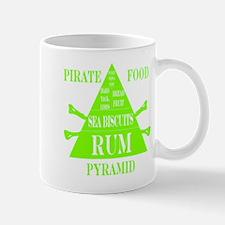 Pirate Food Pyramid Lime Mug