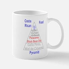 Costa Rican Food Pyramid Mug