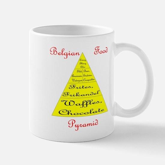 Belgian Food Pyramid Mug