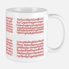 Danish Cities Flag Mug