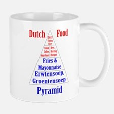Dutch Food Pyramid Mug