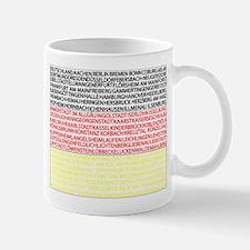 German Cities Flag Mug