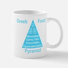 Greek Food Pyramid Mug