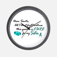 All I Want For Chrismas OC (Sister) Wall Clock