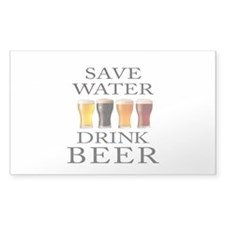 Save Water Drink Beer Decal