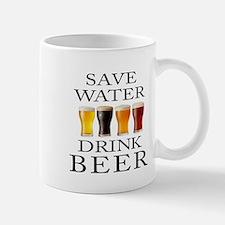 Save Water Drink Beer Mugs