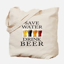 Save Water Drink Beer Tote Bag