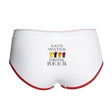 Save Water Drink Beer Women's Boy Brief