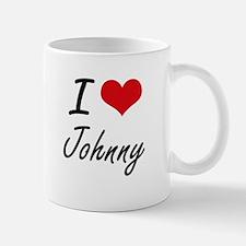 I Love Johnny Mugs