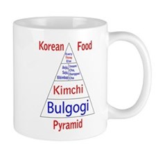 Korean Food Pyramid Mug