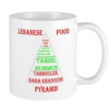 Lebanese Food Pyramid Mug
