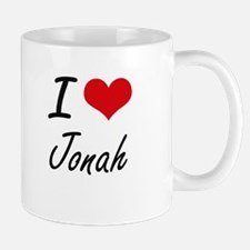 I Love Jonah Mugs