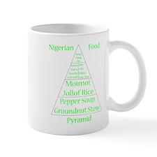 Nigerian Food Pyramid Mug Mugs