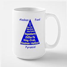 Alaskan Food Pyramid Large Mug