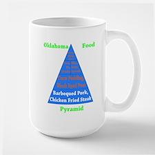 Oklahoma Food Pyramid Mug