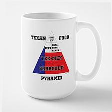 Texan Food Pyramid Mug