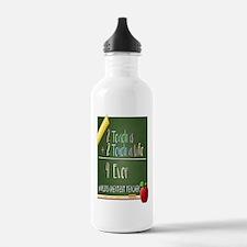 2 Teach 2 Touch a Life Water Bottle