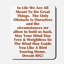 Free & Weightless Mousepad