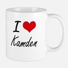 I Love Kamden Mugs