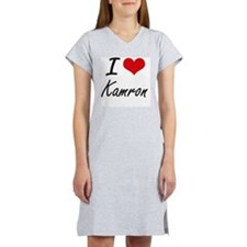 I Love Kamron Women's Nightshirt