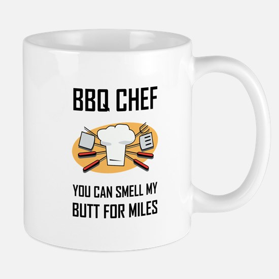 BBQ Chef Smell Butts Mugs