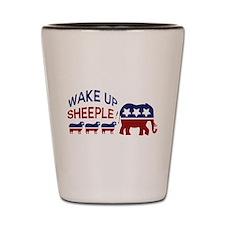 Unique Political humor Shot Glass