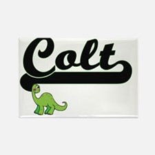 Colt Classic Name Design with Dinosaur Magnets