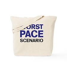 Worst Pace Scenario Tote Bag