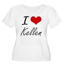 I Love Kellen Plus Size T-Shirt
