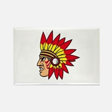 INDIAN NAME Rectangle Magnet