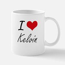 I Love Kelvin Mugs