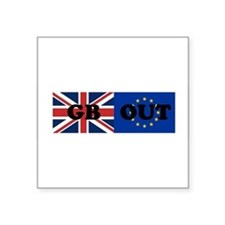 "Cute Anti eu Square Sticker 3"" x 3"""