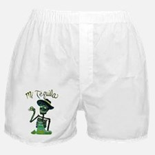 Mi Tequila Day of the Dead Boxer Shorts