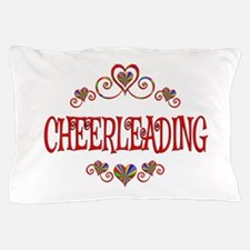 Cheerleading Hearts Pillow Case